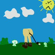 artist:jascii butt mario_golf streamer:vinny vineshroom // 512x512 // 22.7KB