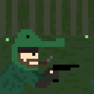 artist:supersmegbros crocodile_cap game:metal_gear_solid_3 streamer:vinny // 480x480 // 18.3KB