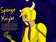artist:fishlazer97 game:shovel_knight sponge streamer:vinny // 800x600 // 272.2KB