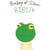 artist:notebook frog rebirth streamer:vinny the_binding_of_isaac // 700x700 // 10.1KB