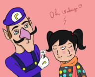 artist:keadane game:tomodachi_life streamer:vinny two_faced waluigi // 752x614 // 205.7KB
