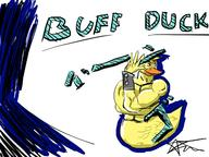 Buff_Duck artist:StarVarR3lik game:feed_ducks streamer:vinny // 1600x1200 // 695.9KB