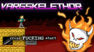 8bit fire skull streamer:joel // 1366x768 // 275.1KB