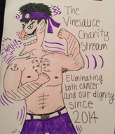 buff charity_stream game:super_smash_bros game:super_smash_infinite streamer:vinny vinesauce waluigi // 1612x1881 // 733.1KB