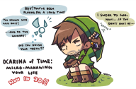 artist:natsurkgk game:ocarina_of_time legend_of_zelda link navi streamer:vinny // 848x559 // 417.4KB