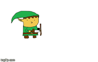 animated artist:waffletrainz legend_of_zelda link // 360x228 // 12.6KB