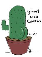 artist:zooobr cactus game:tumbleseed streamer:ky // 1534x2048 // 258.1KB