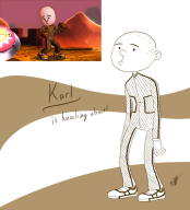 artist:timoteilsd game:super_smash_bros_4 karl_pilkington mii_fighter streamer:vinny // 750x824 // 298.1KB