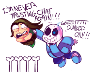 artist:cytricacid game:undertale genocide_run sans streamer:joel // 950x735 // 296.8KB