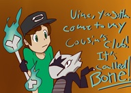 artist:bitgreen club cousin game:pokemon marowak streamer:vinny // 700x500 // 239.4KB