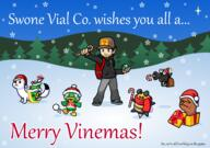 artist:shyguyxxl bee game:vinemon hermine kidstol meat scoot streamer:vinny tumblebee vinemas // 2468x1734 // 974.1KB