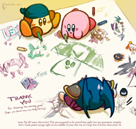 artist:shining-latios game:kirby_planet_robobot kirby meta_knight streamer:vinny waddle_dee // 950x903 // 701.8KB