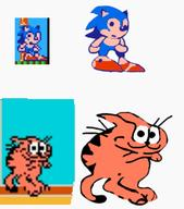 artist:KesselSmuggler game:Trash game:a_week_of_garfield garfield sonic streamer:vinny // 495x561 // 128.9KB