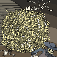 artist:julianismus bone_zone el_serpento game:dark_souls skeleton skeletons streamer:joel // 1000x1000 // 174.4KB