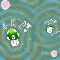 artist:aeltyr brb space streamer:vinny vineshroom // 1080x1080 // 681.3KB