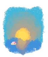 artist:mugi beach game:kirby_planet_robobot kirby streamer:vinny // 500x600 // 233.7KB