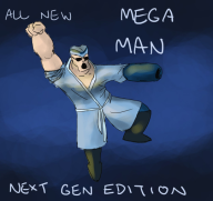 artist:growingobsession game:sims_4 mega_man streamer:joel // 540x511 // 61.8KB