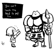 artist:silver-tan game:undertale streamer:joel undertale_spoilers // 789x712 // 209.7KB
