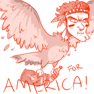 america artist:chimeracorp assassin's_creed eagle streamer:fred // 500x500 // 26.5KB