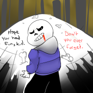 artist:simianofshadows game:undertale sans streamer:joel // 1140x1140 // 609.4KB