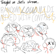 artist:lottafandoms midi streamer:joel // 860x845 // 346.0KB