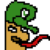 animated artist:basefish game:super_mario_bros luigi speed_luigi streamer:vinny // 320x320 // 49.1KB
