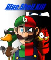 Metal_Gear_McQueen artist:DaddySheevy98 duck game:3d_movie_maker garfield luigi mario streamer:joel // 1000x1180 // 432.7KB