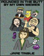 artist:zazca bees chat danny_devito eat_pant guy_fieri que_pasa_neng speed_luigi streamer:vinny tommy_wiseau vineshroom // 750x940 // 1.5MB