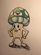 artist:white_pikmin streamer:vinny vineshroom // 1222x1632 // 498.3KB