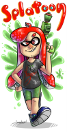 artist:sapphzeal game:splatoon streamer:joel // 490x955 // 438.4KB