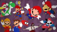 artist:mastrlemon game:donkey_kong game:super_mario_64 game:super_mario_galaxy game:super_mario_galaxy_2 game:super_mario_maker game:super_mario_odyssey game:super_mario_sunshine game:super_mario_world mario streamer:vinny super_mario super_mario_bros_super_show // 1920x1080 // 2.3MB