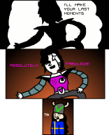 animated artist:snitchen game:undertale mettaton streamer:joel sunglasses // 536x659 // 76.7KB