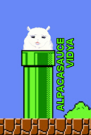 alpaca game:paca_plus game:super_mario_bros photoshop vinesauce // 171x253 // 37.8KB