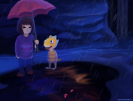 artist:pyrochasm game:undertale streamer:joel // 1500x1134 // 4.9MB
