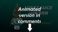 animated be_right_back brb christmas photoshop streamer:vinny vineshroom // 1920x1080 // 1.0MB