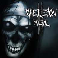 2 album cover metal skeleton skeleton_metal skeleton_metal_ii skeletons streamer:joel // 1600x1600 // 940.2KB
