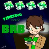 animated artist:HOMEBYMIDNIGHT brb game:WarioWare streamer:vinny // 800x800 // 450.7KB