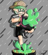 artist:ayanathedork bucket game:splatoon_2 streamer:vinny // 1400x1600 // 635.3KB