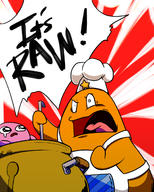 artist:heavenly96 chef_kawasaki chef_ramsay game:kirby_star_allies kirby streamer:vinny // 1000x1250 // 690.9KB