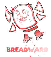 Breadward artist:PunishedVWaffle game:super_paper_mario streamer:vinny // 685x772 // 103.1KB