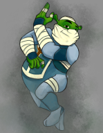 artist:caffeinated_sloth game:ocarina_of_time sheik shrek streamer:vinny // 1416x1815 // 1017.0KB