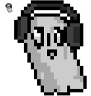 artist:metalsauce game:undertale napstablook streamer:joel // 296x313 // 3.6KB