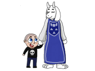 artist:noskell. game:undertale streamer:joel // 512x384 // 103.6KB