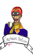 artist:kyari captain_falcon sculptgl streamer:joel // 400x667 // 41.0KB