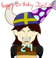 artist:pixelumbreon birthday streamer:joel // 1023x1060 // 282.5KB