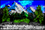 artist:white_pikmin bob_ross mario_paint streamer:joel // 503x344 // 106.3KB