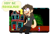 artist:dogfwish dos_madness game:hugo's_house_of_horrors game:the_adventures_of_melvin_freebush streamer:joel // 1280x800 // 428.5KB