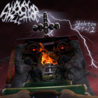 artist:aphtonites rct2 skeleton skeleton_metal_album skeleton_metal_ii skeletons streamer:joel // 1000x1000 // 1.5MB