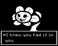 flowey game:undertale genocide_run streamer:joel // 1637x1309 // 24.4KB
