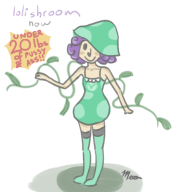 artist:mushroompasta oc vinelady vineshroom // 668x745 // 193.7KB